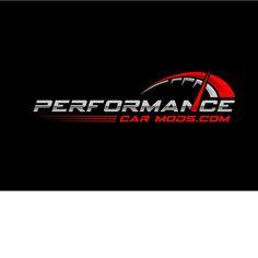 NASCAR SPONSORSHIP graphic logo for PERFORMANCE CAR MODS.COM by Shaabz