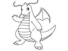 Nice Image Result For Pokemon Dragonite Coloring Pages