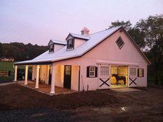 A beautiful 34' x 40' High Profile Horse Barn in Far Hills, NJ