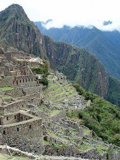 Machu Picchu, Peru - Photo by Sue Young