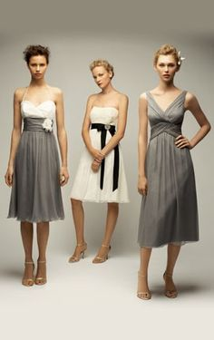 brides maid dresses that are actually just NICE dresses!