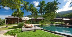 Hotels & Resort, Captivating Ephelia Resort In Seychelles With Breathtaking Landscape Of Natural View Indian Ocean And Mountain View Lush Trees Exterior Pool: Seychelles Resorts with Breathtaking Natural View of Indian Ocean