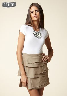 Necklace Dress- on sale for $89 (from 238!) #dress #skirt #tan
