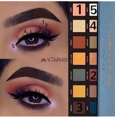 My Style Anastasia Subculture Eye Palette Tutorial Schönheit Make-up Battery Powered Chainsaws Artic Make Up Palette, Eye Palette, Eyeshadow Palette, Burgundy Eyeshadow, Silver Eyeshadow, Yellow Eyeshadow, Natural Eyeshadow, Makeup Goals, Makeup Inspo