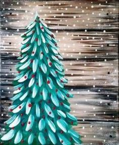 Check out Rustic Christmas Tree at Port Jeff Bowl -Splitz Sports Bar (Port Jeff Station) - Paint Nite Christmas Paintings On Canvas, Christmas Canvas, Christmas Art, Rustic Christmas, Wine And Canvas, Winter Painting, Diy Painting, Paint And Sip, Paint Party