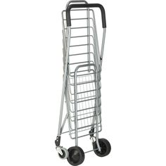 Shop Crate and Barrel to find everything you need to outfit your home. Browse furniture, home decor, cookware, dinnerware, wedding registry and more. Storage Cart, Crate Storage, Folding Shopping Trolley, Shopping Carts, Crate And Barrel, Personal Shopping Cart, Rolling Bar Cart, Trolley Cart, Grey Home Decor