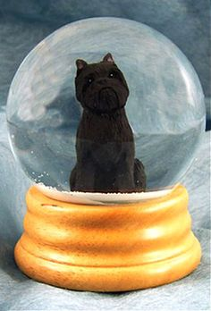 Affenpinscher Dog Musical Water Snow Globe - You've Got a Friend Tune $99.99 at DogLoverStore.com