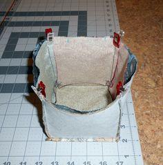 Sewing Tutorial: Thread Catcher Basket Free Pattern