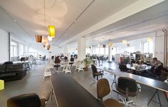 Coworking Space - Betahaus, Berlin, Germany