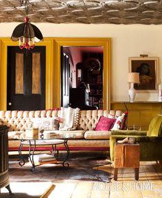 Living Room:  Photographer: Sian Richards | Homeowners: Jude Allison and Brad MacArthur