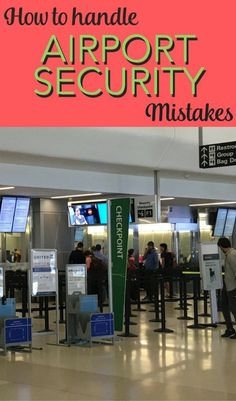Ever had a bad experience with airport security? The TSA can and does make mistakes, especially when it comes to travelers with kids. Learn how one frequent traveler battled the TSA successfully and how you can too. Air Travel Tips, Packing Tips For Travel, Travel Advice, Travel Hacks, Europe Packing, Traveling Europe, Backpacking Europe, Packing Lists, Travel Essentials