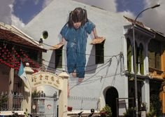 New Interactive Street Art by Ernest Zacharevic