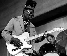 J. B. Hutto (April 26, 1926 – June 12, 1983) was a blues musician. Hutto was influenced by Elmore James, and became known for his slide guitar work and declamatory style of singing. He was inducted into the Blues Hall of Fame two years after his death.