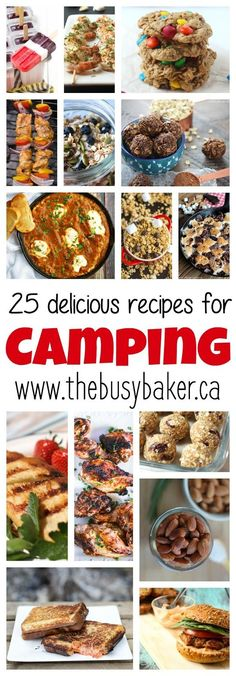 The Busy Baker: 25 Delicious Recipes for Your Next Camping Trip!