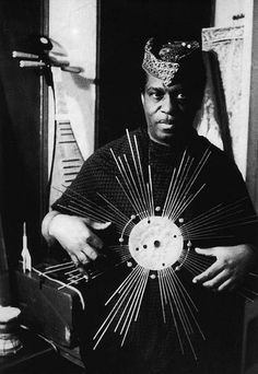 Sun Ra - An American Jazz Composer, Piano and Synthesizer Player :: Sun Ra was known for being a cosmic philosopher, with experiemental musical compositions and performances. He was inducted into the Alabama Jazz Hall of Fame in Jazz Artists, Jazz Musicians, Dona Summer, Today In Black History, Francis Wolff, Afro, Composition Techniques, Free Jazz, Instruments