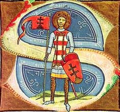 István király a képes krónikából    Magyarország – Wikipédia