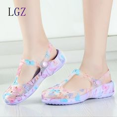 Cheap clogs for women, Buy Quality clogs women directly from China clogs clogs Suppliers: New Arrival 2016 Summer Women Clogs High Quality Multicolor Garden Shoes Woman Beach Flat Sandals Famous Brand Clogs For Women