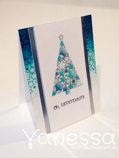 Vanilljas Christmas Cards, Card Making, Scrapbook, Smile, Create, How To Make, Cards, Packaging, Xmas Greeting Cards