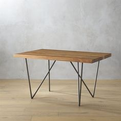 """Shop dylan 36""""x53"""" dining table. Now scaled to suit smaller spaces, our junior Dylan dines four in a small-space friendly footprint. Dylan's signature beauty is all about the living grain of gorgeous eco wood slab planks."""