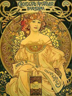 chocolate1900 - From Barcelona, beautiful Art Nouveau.