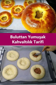 Arabic Food, Turkish Recipes, Frozen Yogurt, Doughnut, Brunch, Food And Drink, Bread, Cooking, Cake