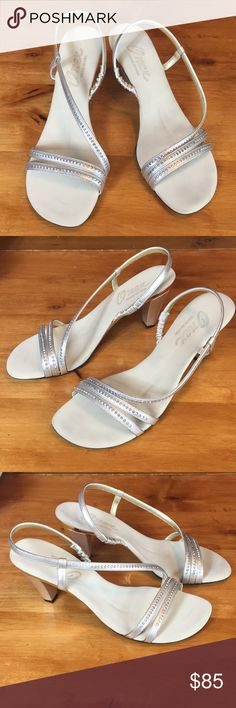 a551e837a Inez Sandal heels size 11 Excellent condition!!! Slightly worn Onex Shoes  Heels