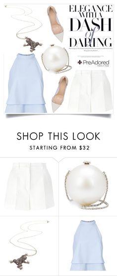 """""""Pre Adored 10/III"""" by amra-mak ❤ liked on Polyvore featuring Dolce&Gabbana, Chanel, Miss Selfridge, Gianvito Rossi and PreAdored"""