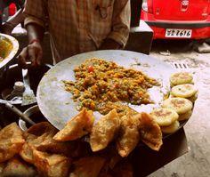 The filling for #samosa-- #Kolkata #Street #Food #India #ekPlate #ekplatesamosa