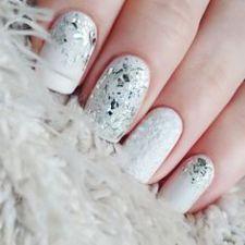 simple white nail art designs 2016