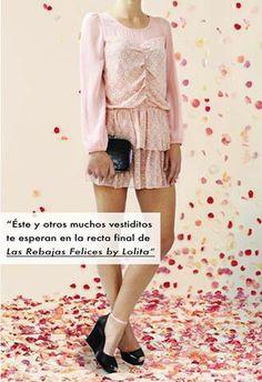 Atención, Atención! Comienza la recta final de Las Rebajas Felices by Lolita en 3, 2, 1,...GO!!  https://www.facebook.com/lolitashoponline