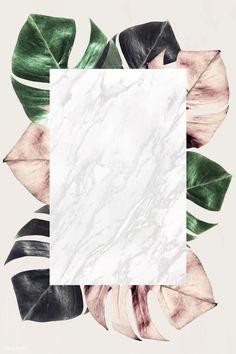Rectangle frame on metallic split leaf pattern background Flower Backgrounds, Wallpaper Backgrounds, Iphone Wallpaper, Backgrounds Free, Instagram Background, Instagram Frame, Framed Wallpaper, Maquillage Halloween, Aesthetic Backgrounds