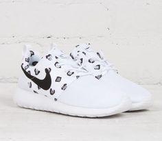 Nike Roshe Run WMNS-White Leopard