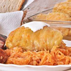 Töltött káposzta 4. -egyszerű   Nosalty Hungarian Cuisine, Hungarian Recipes, Hungarian Food, Good Food, Yummy Food, Delicious Recipes, Xmas Dinner, Best Food Ever, Family Meals