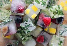 7 idei ingenioase de cuburi de gheata pentru preparatele tale de vara