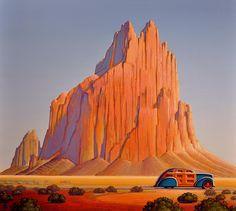 """Sailing""  Robert LaDuke - Meyer East Gallery, Santa Fe, NM"