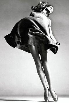 """Richard Avedon's """"Veruschka, dress by Bill Blass, New York, 1967"""""""