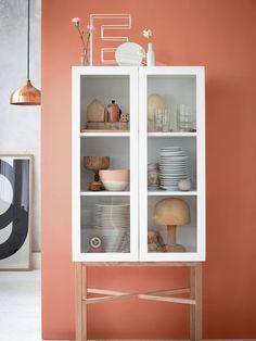 ¿De qué #color pinto mi casa esta temporada? #pintura #tendencia #alacena #vitrina