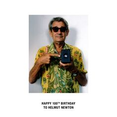 Helmut Newton, Round Sunglasses, Anniversary, Fashion, Moda, Round Frame Sunglasses, Fashion Styles, Fashion Illustrations