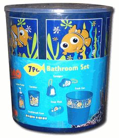 finding nemo shower curtain finding nemo 11 pc set shower curtain towels rug wastebasket. Black Bedroom Furniture Sets. Home Design Ideas