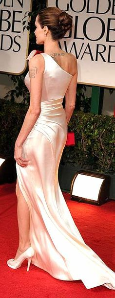 Angelina Jolie Dress Designed by Atelier Versace in 2012