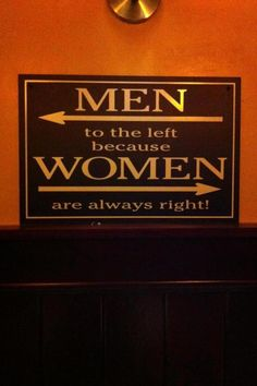 Sign seen in a bar...