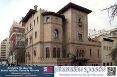 Fachada del palacio de don Guillemo de Osma, sede del Instituto Valencia de don Juan.