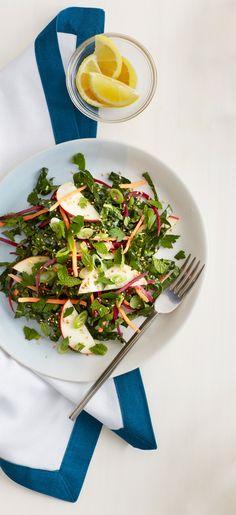 Winter Kale Slaw Recipe