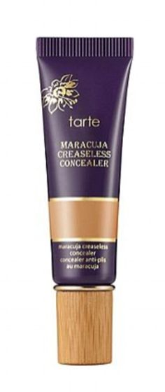 Never too much: Heidi uses Tarte Maracuja Creasless Concealer (pictured) and blends it in ...