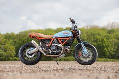 The Gulf Tracker by Sheffield Motorcycle Centre