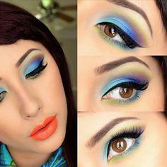 Universo da Moda & Cia.: Makeup exuberante é fashion