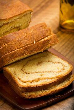 Cinnamon Swirl Sweet Potato Bread #Recipe