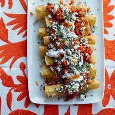 No-Bake Vegetarian Enchiladas Recipe - Josef Centeno | Food & Wine