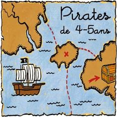 Pirate treasure hunt (french) Explanation & printables for ca. hours of game Pirate Games, Pirate Theme, Pirate Party, Pirate Scavenger Hunts, Pirate Treasure, Pirate Birthday, Ocean Themes, Diy For Kids, Party Time