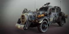 ArtStation - sci-fi ww2 allied vehicle, Matthias Develtere